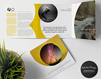Creative Clean Square Trifold Brochure