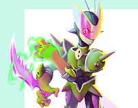 Mantisz - Character Design