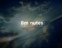 Rebranding - solar energy company | 8minutes