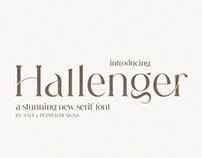 Hallenger Serif Font