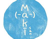 Packaging design for Maki san