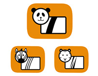 Pictograms for a zoo
