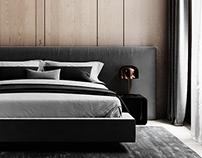 - minimalist bedroom -