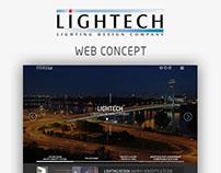 LIGHTECH web concept