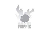 Fire Pig Icon and Collateral