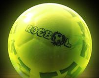 Etiquetas para productos de Rocbol.
