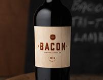 Bacon (Guarachi Wine Partners) Label & Logo Design