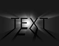 lighting text effects