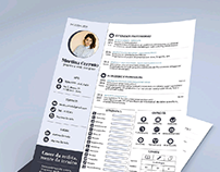 Free ResumeTemplate for Adobe Indesign