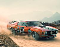 Mustang CGI Work