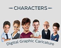 Digital Graphic Caricature