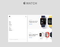 Conceito Loja Apple Watch