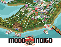 Mood Indigo Festival Map