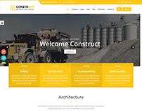 Construct : Construction, Building & Maintenance Websit