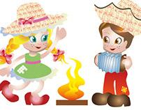 Ilustração Festa Junina