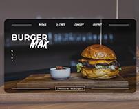 UI/UX Design - Burger Max