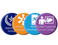 Salesforce Support Badges