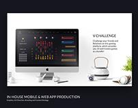 V Challenge Web App. UX/UI