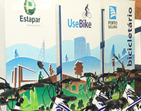 Illustration for Urban Bicycle Racks