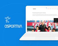 OSPORTIVA - Branding and Web Design