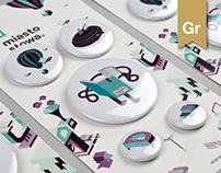 Miasto Słowa Festival 2016 / branding