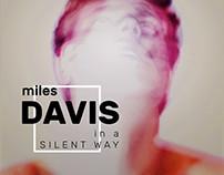 MILES DAVIS, ERIK SATIE — album covers