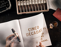 Cinco Decadas: Cigar & Book