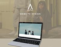 ANAABU.CO Website Design Interface