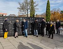 Traveling exhibition Amnesty in Girona - Òmnium