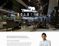 Asian Restaurant UI (2016)