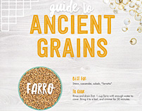 Guide to Ancient Grains Infographic