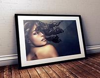 FREE Studio Frame PSD Mockup