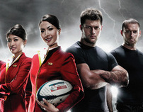 Cathay Pacific - Rugby Sevens Campaigns
