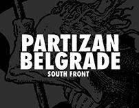 PARTIZAN BELGRADE - SOUTHERN FRONT SHIRTS