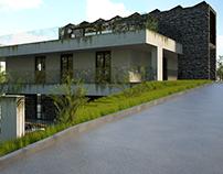 Private house_ Architectural Visualization