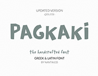Pagkaki Font