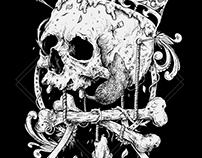 T-shirt Design for False Crown band