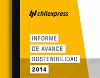 Reporte de Sostenibilidad Chilexpress, 2014