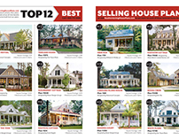 Southern Living House Plans advertorial spread