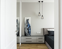 Grey apartment by DG Interiors