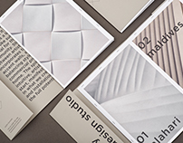 KAZA Concrete & NOTE Design Studio, Weave Brochure