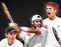 2015 Men's Tennis Poster
