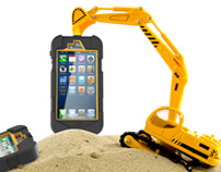 RESOLUTE - JCB iPhone Case Design