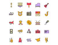 Composer Icons Set