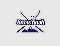 """Дизайн-проект для команды гидов """"SnowRush"""""""
