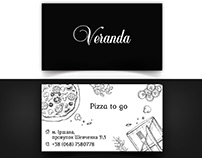 Business card for Veranda