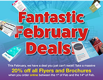 Fantastic February Deals Promo Campaign for HPP