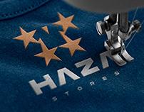 HAZA brand identity