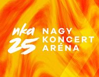 NKA 25 ARÉNA . . . stage visuals