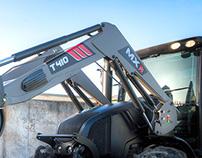 Industrial design / MX Front loader T400 Series